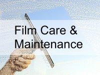 film care and maintenance